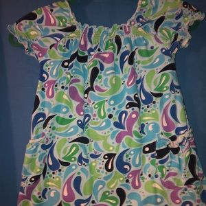 Hanna Andersson Kids Short Sleeved Dress (110)